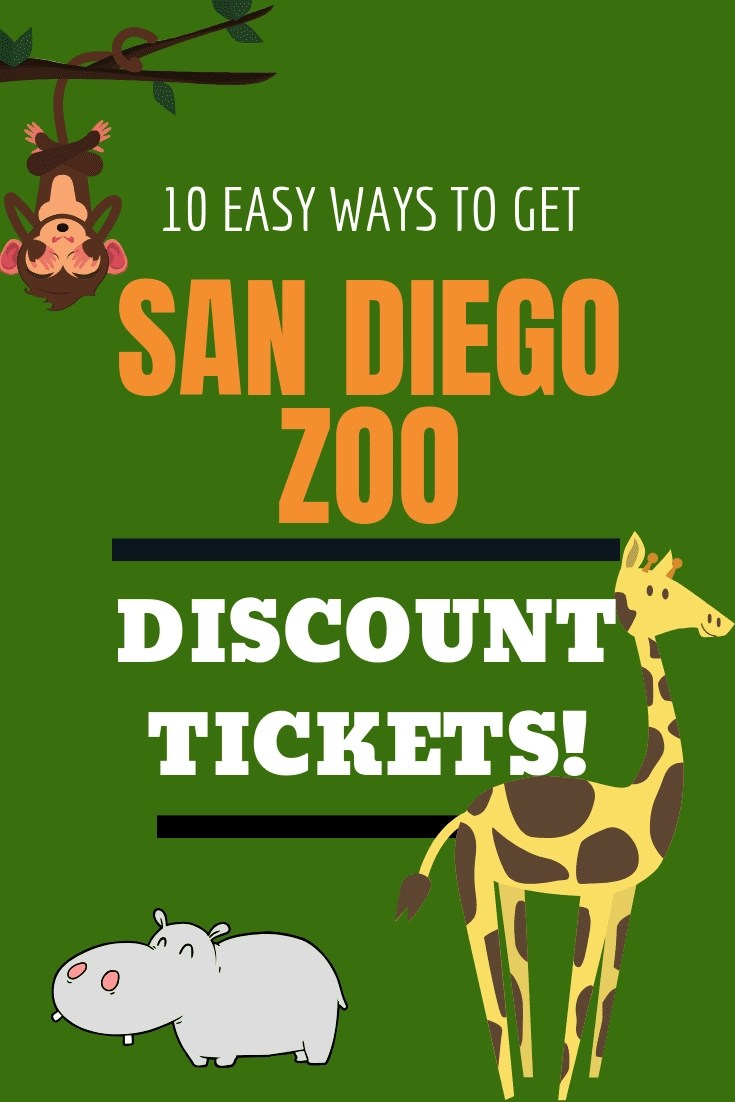 [10 Ways] to Score San Diego Zoo Discount Tickets. The San Diego Zoo has been voted the #1 Zoo in America by Tripadvisor. Here are 10 ways to score discounted tickets to this incredible park. #sandiegozoo #discountickets #kidsfreesandiego