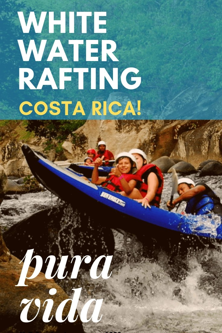Amazing Rivers for Whitewater Rafting in Costa Rica! Costa Rica has so many incredible places for adventure, and river rafting was our absolute favorite. Here are the best places to do River Rafting in Costa Rica.  #costarica #puravida #whitewaterrafting