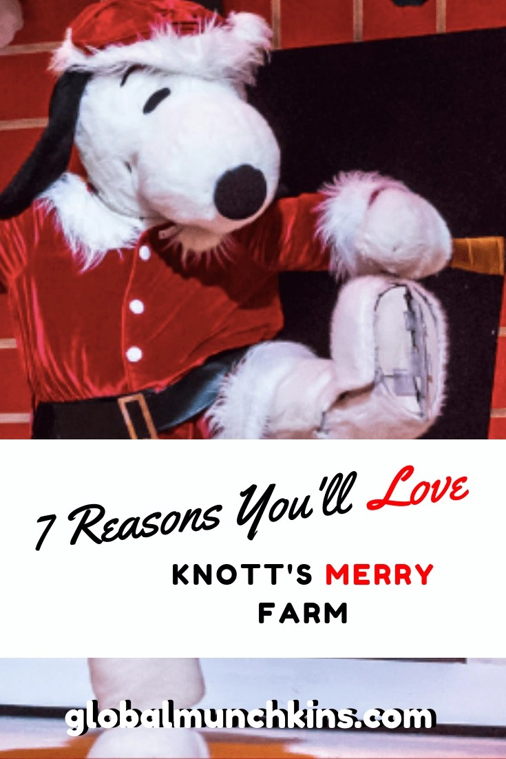 7 Reasons You'll Love Knott's Merry Farm - There is so much to do at Knott's Berry Farm during the holiday season. Here are the top 7 things to do. #knottsberryfarm #holidayfun