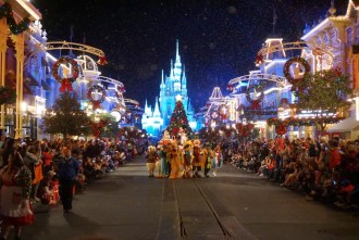 Mickey's Very Merry Christmas Party - Once upon a time Christmas Parade