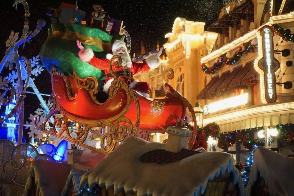 Mickey's Very Merry Christmas Party Santa