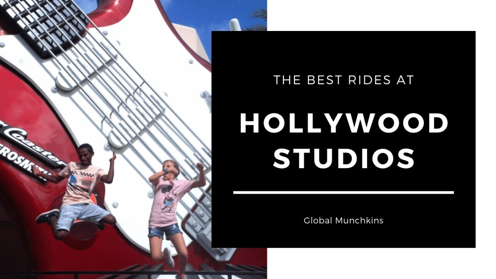 The Best Rides at Hollywood Studios