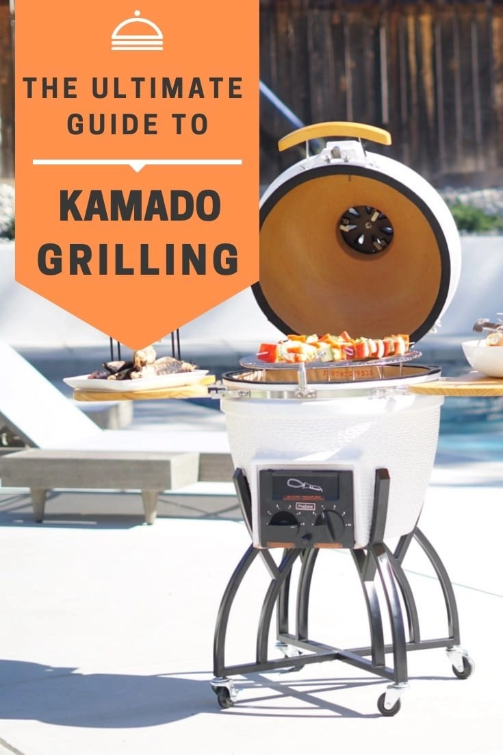 The Ultimate Guide the Best Kamado Grilling. Learn why the Vision Grill's Kamado Grill is the absolute BEST Kamado Grill on the market with its interchangeable gas or charcoal fuel systems, multi-level grilling grates and gorgeous construction it is the perfect gift for the person who loves entertaining + any chef in your life. @homedepot #GrillUptheHolidays