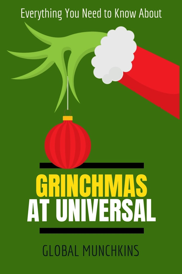 Universal Studios is a great park to visit all year long, but I am pretty certain the Universal Studios Grinchmas is the best time to go. Here is Why!