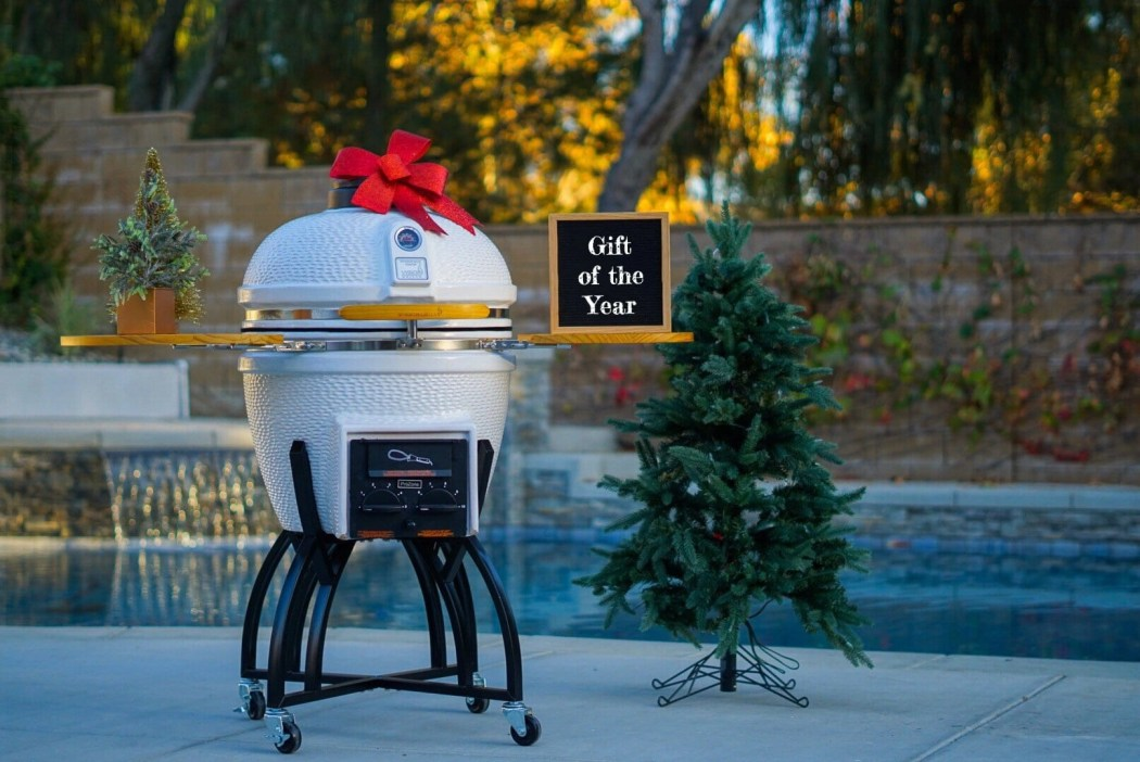 Vision Grills Kamado Grill available at the Home Depot