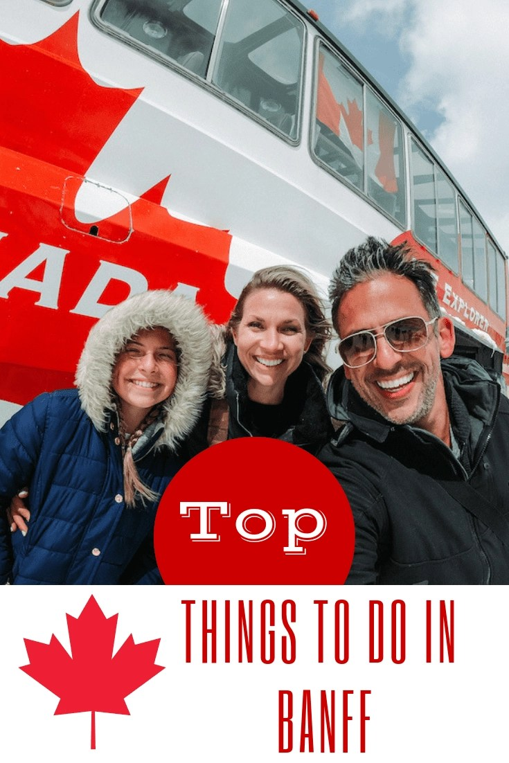The top things to do in Banff, Canada. Absolutely Incredible!! Considering a trip to the highest town in Canada? From White Water Rafting to Wildlife tour, make sure you check out our lost of top things to do in Banff! #banff #canada