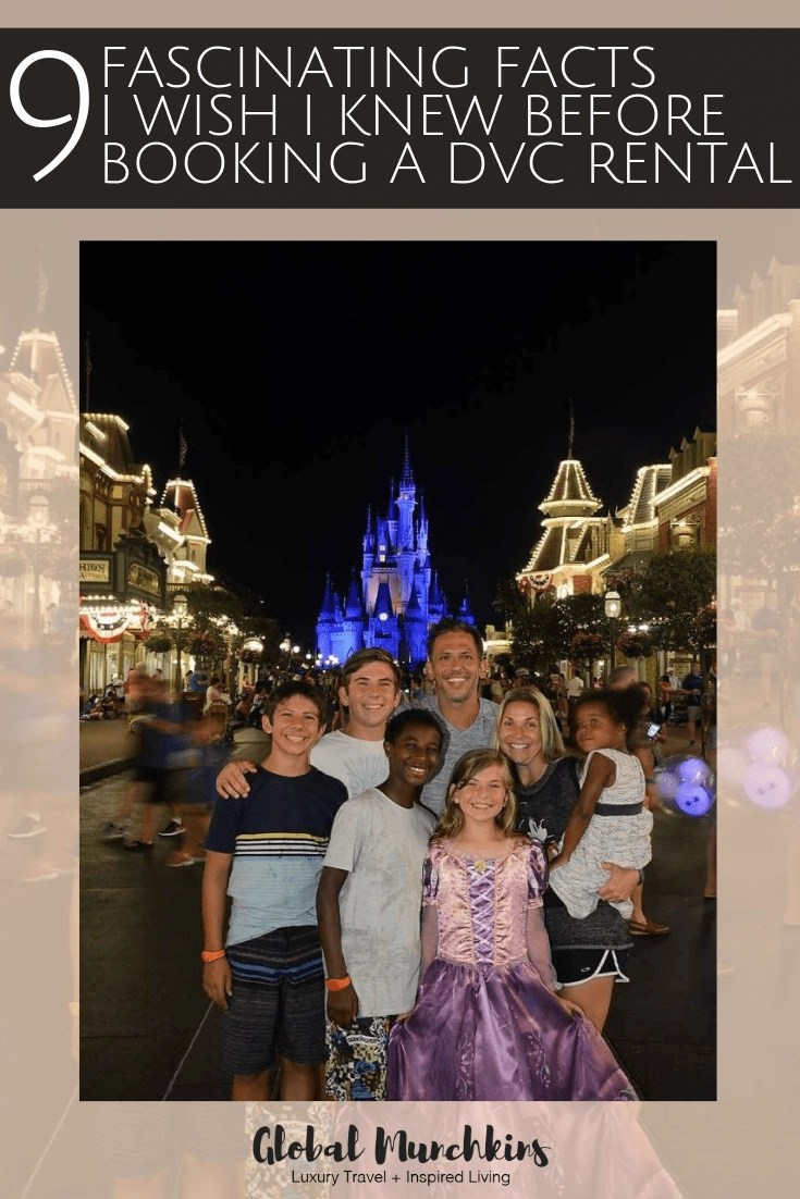 Are you thinking about booking a DVC rental for your next Disney Vacation? The Disney Vacation Club offers quite an affordable way to save money on their future vacations, there is no doubt about that. Here are 9 fascinating things I wish I knew before booking a DVC Rental. #booking #bookingtips #dvc #disneyvacationclub #disney #disneyland #vacation #savingmoney #save