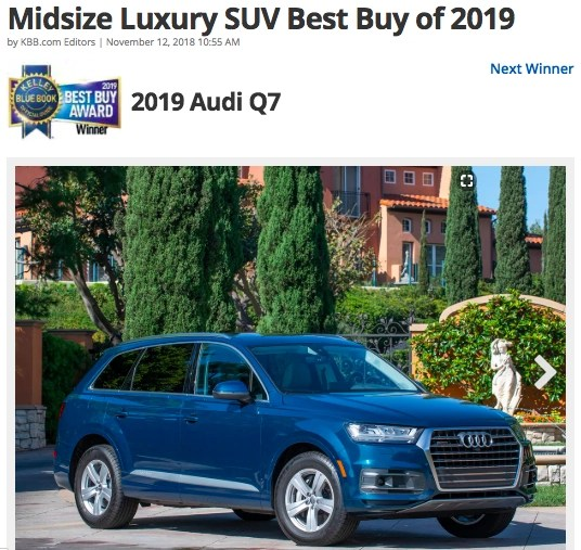 Searching for a new car? Kelley Blue Book recently released their 2019 Best Buy Awards. See which cars made their list.