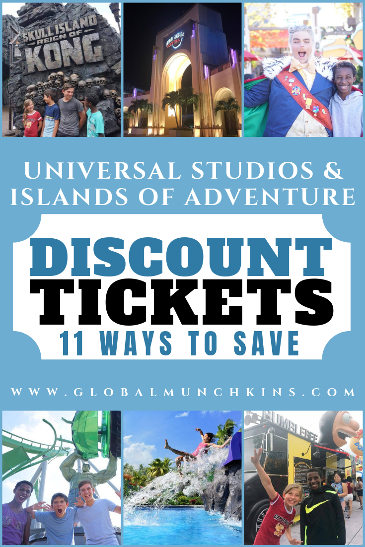 Here is the complete guide to Universal Studios & Islands of Adventure Discount Tickets! #ultimateguide #traveltips #travel #familyvacation #universalstudios #discount #adventure #tickets #save