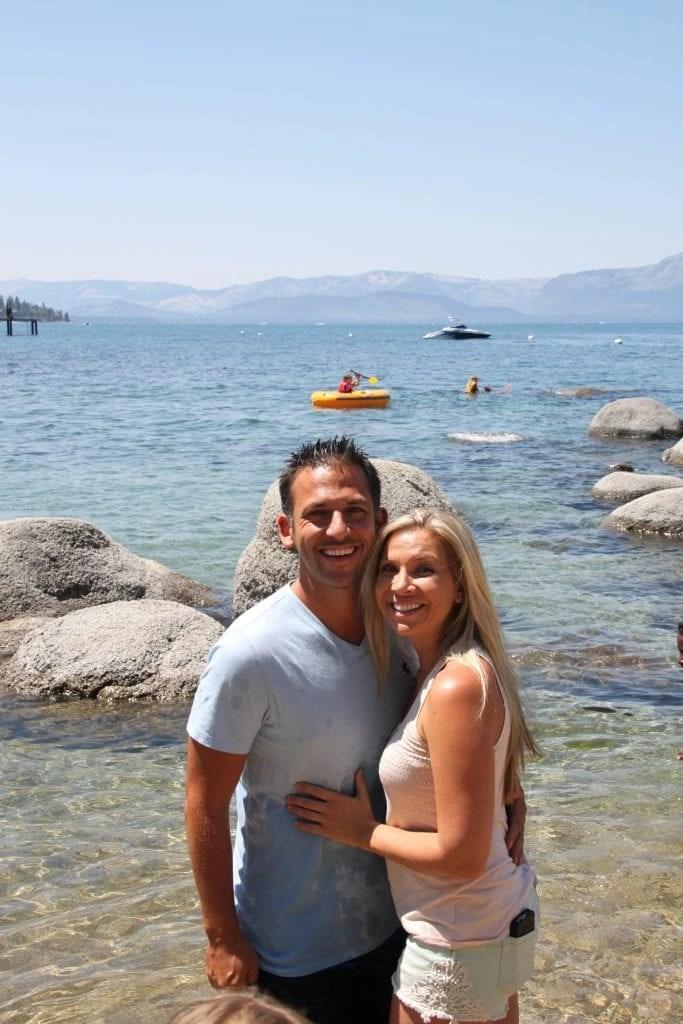 Lake Tahoe Summer Beach