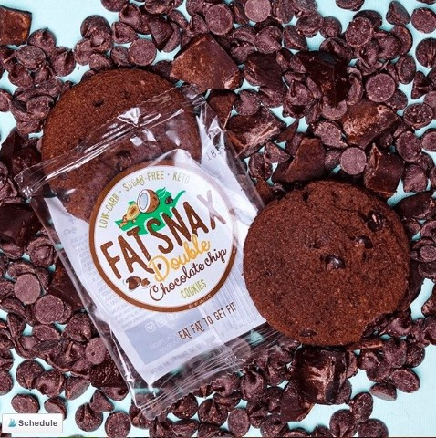 One of the best low carb snacks when a cookie craving attacks are the FatSnax Keto Cookies