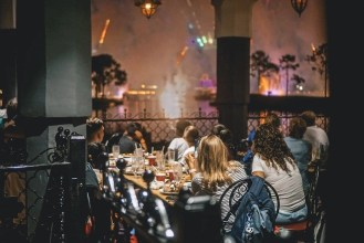 Disney World Tips - Dine at Spice Road Table for Fireworks Viewing