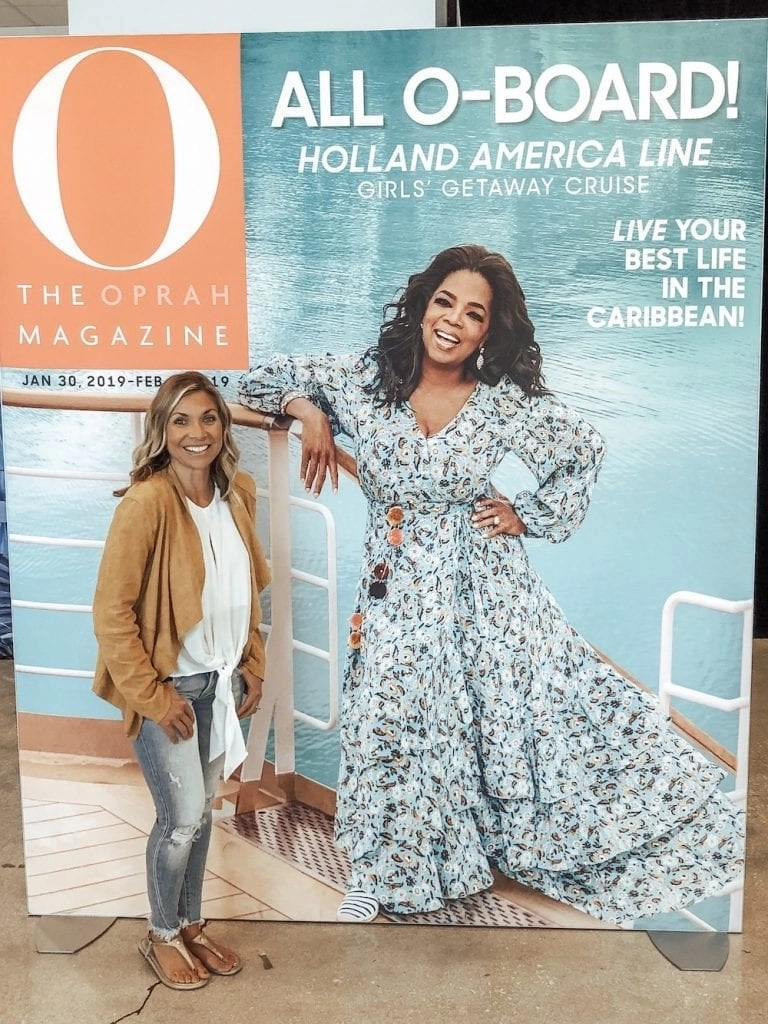 What it was like to sail with Oprah Winfrey and Gayle King on the Girls' Getaway Cruise