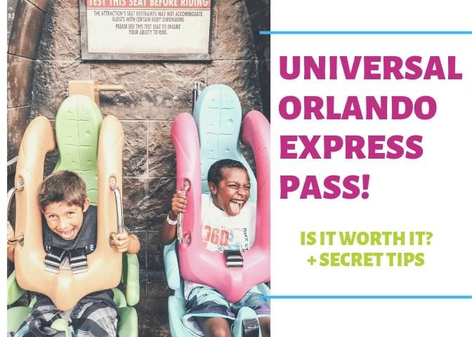 Universal Orlando Express Pass!