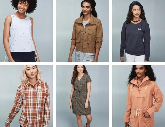 Adorable Spring Looks from REI online. #camping #campingstyle #whattowearcamping #hiking #hikinggear