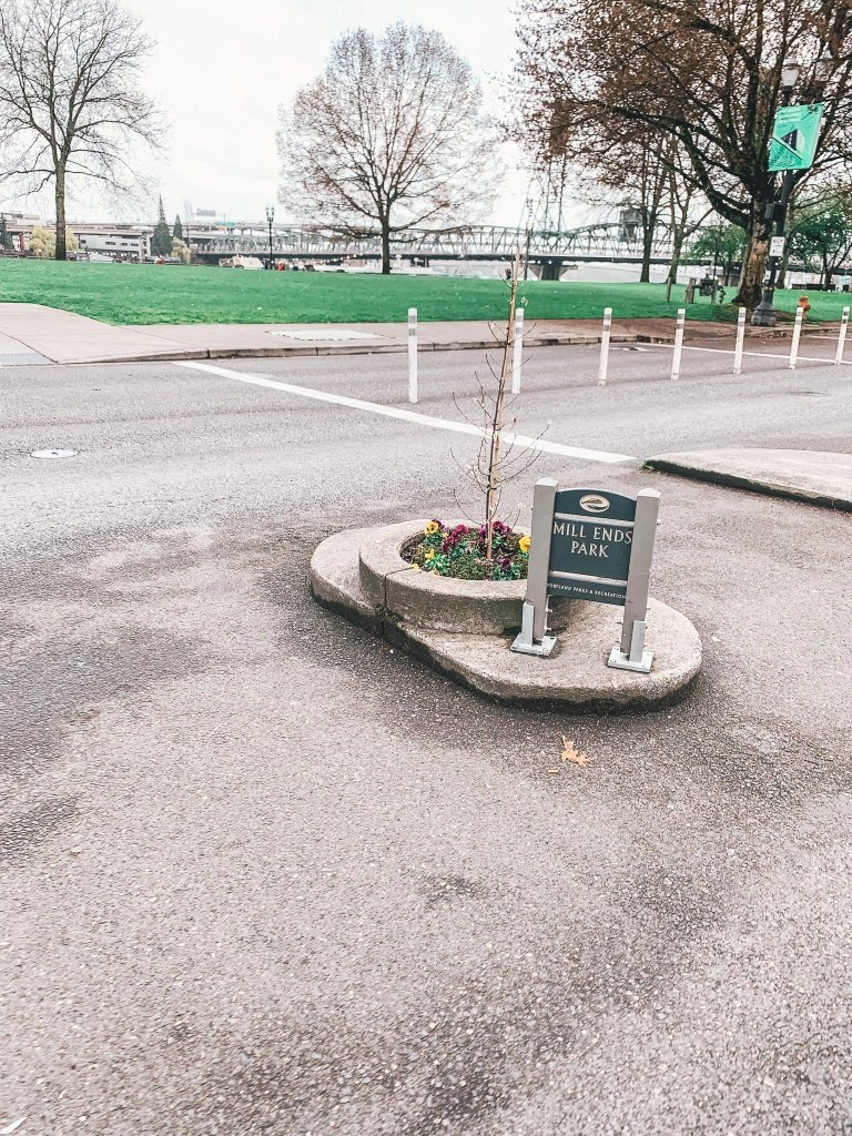Portland's World's Smallest Park
