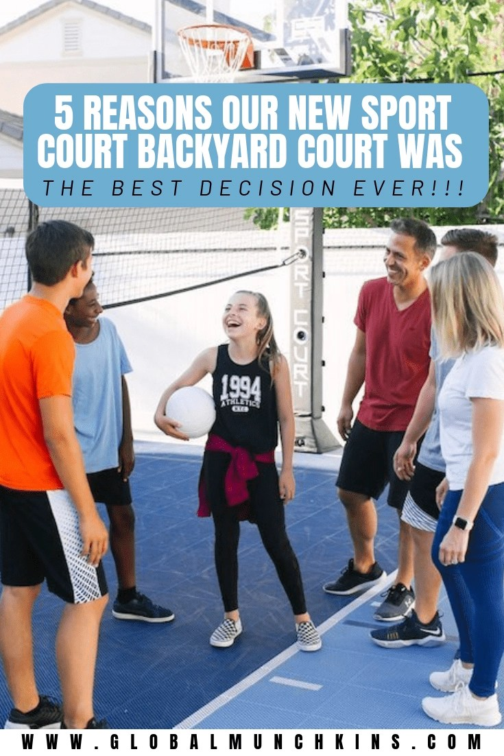 When you're already a parent, the best money you could spend on your kids would be based on building memories together as a family. A sport court backyard built in your house would be perfect for that great family quality time bonding! Check out the 5 reasons we are OBSESSED with our brand new backyard court and why you are going to want one too! #sportcourt #backyard #familytime #familybonding #parentingtips #parenting