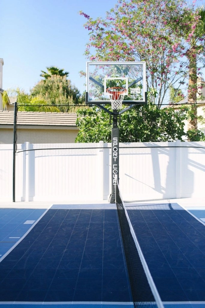 Stunning Outdoor Basketball Court from Sport Court