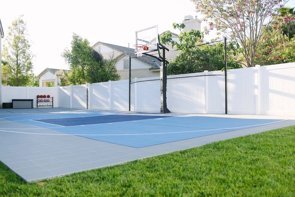 Stunning Backyard Court from Sport Court