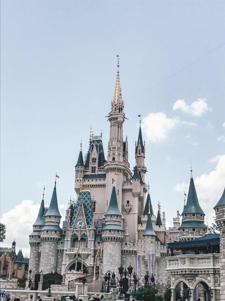 Disney World vs. Disneyland - Disney World Castle