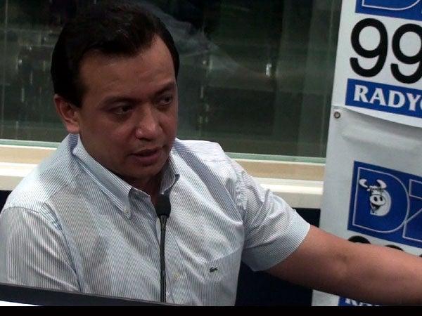 Senator Antonio Trillanes IV. INQUIRER.net FILE PHOTO