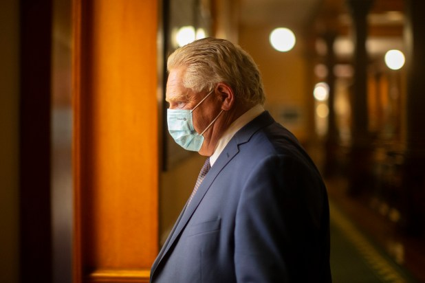 Premier Doug Ford to make announcement Wednesday on COVID-19 vaccine passports