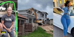 VIDEO: Man Allegedly Destroys House He Built For His Girlfriend After She Dumped Him (Video)