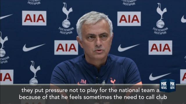 Mourinho takes aim at Pep