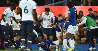 Everton vs Tottenham: Iwobi wants Son Heung-min to send off after Horrible tackle leads to Andre Gomes Ankle Injury