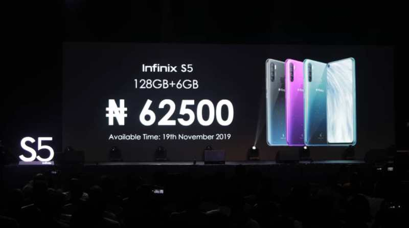 BlackFriday: List of Infinix S5 Price in Nigeria