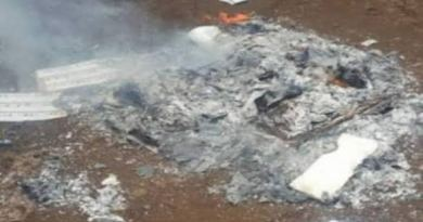 BREAKING: INEC Cancels Election In Ologi As Thugs Burn Materials