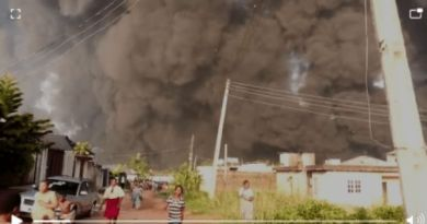 BREAKING: Pipeline Explosion Rocks Gloryland Estate, Isheri Olofin in Lagos