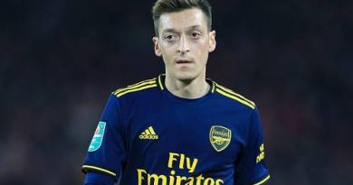 Mesut Ozil shares excitement as Ghanaian club is named after him