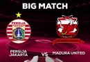 Watch Persija Jakarta Vs Madura United Live Streaming