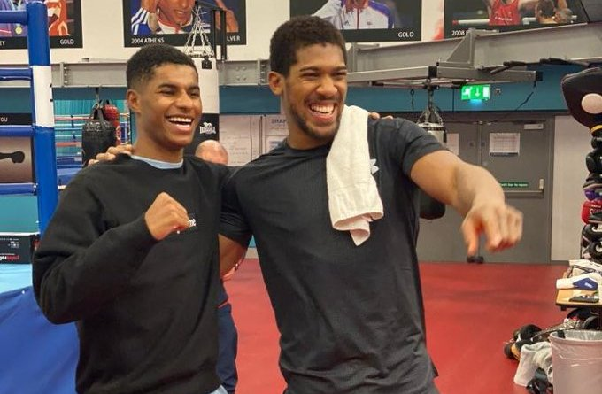 What Marcus Rashford tells Anthony Joshua ahead of Boxing Rematch with Andy Ruiz