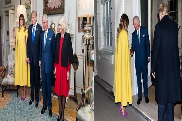 President Trump hosted The Prince of Wales and The Duchess of Cornwall (Photos)