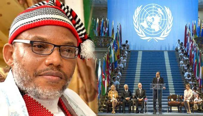 Biafra News: UN and EU to Support Nnamdi Kanu with $50billion for his Mother's Burial