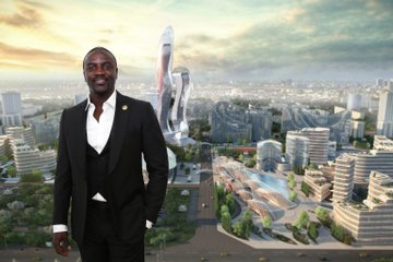 Akon Sets for Establishment of Akon City, Airport, Akon Lighting Africa Solar Power projects, and his own Crytocurrency
