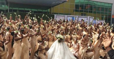 Nigeria Celebrities Reacts to Sandra Ikeji 200 Bridesmaids