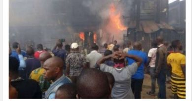 Obasanjo's House guts fire at Ita Eko Abeokuta (Video)