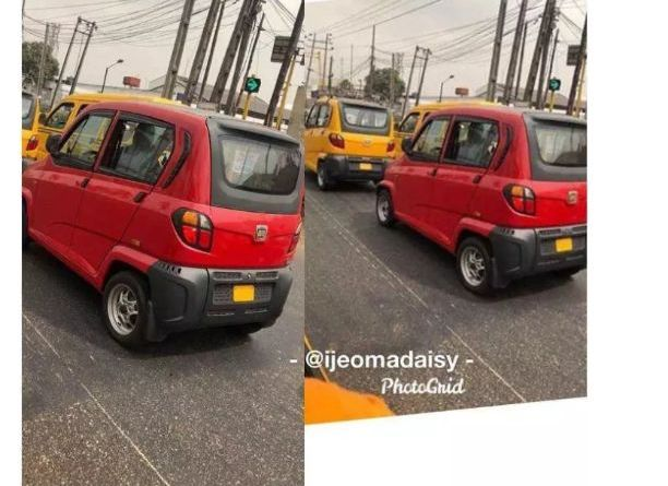 Okada Ban: Sanwo-Olu Introduces New Mini Bus For Okada, Tricycle's Replacement In Lagos (Photos)