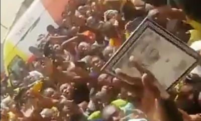 Nigerians allegedly react over the killing of protesters in Sagamu, Ogun State
