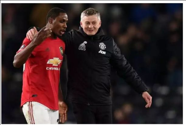 What Ole Gunnar says about Odion Ighalo's double to secure Man United 3-0 win over Derby
