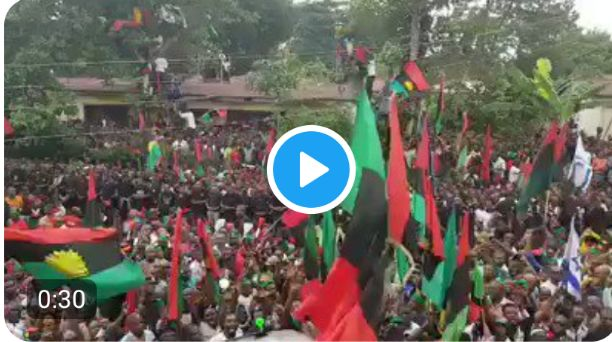 Nnamdi Kanu give N100 million to IPOB members to support them during stay at home over coronavirus