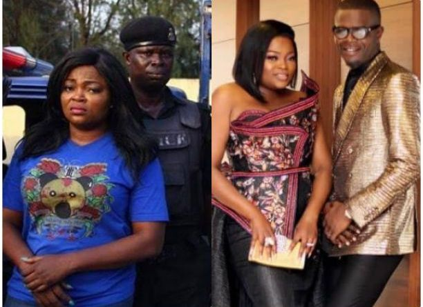 Update: Funke Akindele spends night at Panti office; husband turns himself in