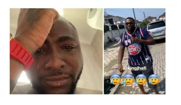 Davido weep bitterly as he loses his close friend