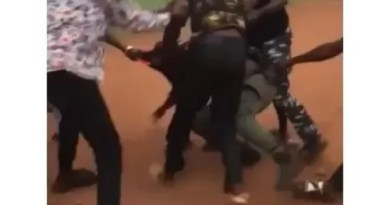 Two Police Officers who fought each other in Edo community, have been dismissed from service