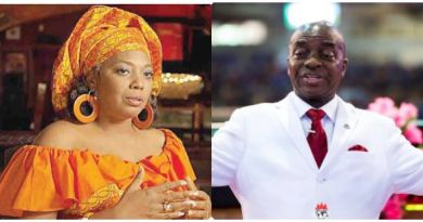 Fela's Daughter, Yeni Reacts To Bishop Oyedepo Comment On Closure Of Churches Nationwide