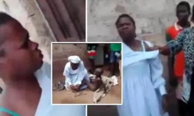 Shocking as Mother ties son in sacks, locked him inside wardrobe for 4 days for an alleged of stealing