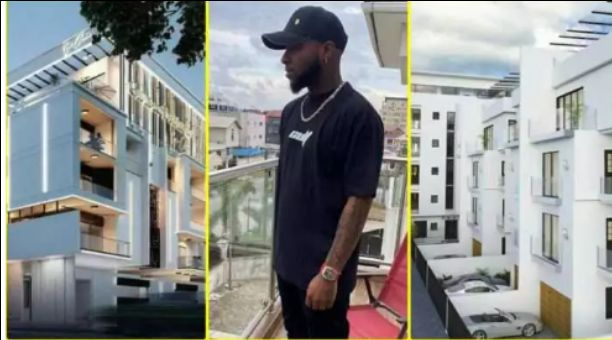Davido gives fans a grant tour of his newly purchased mansion in Banana Island (Video)